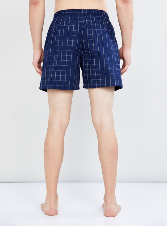 MAX Checked Elasticated Boxers