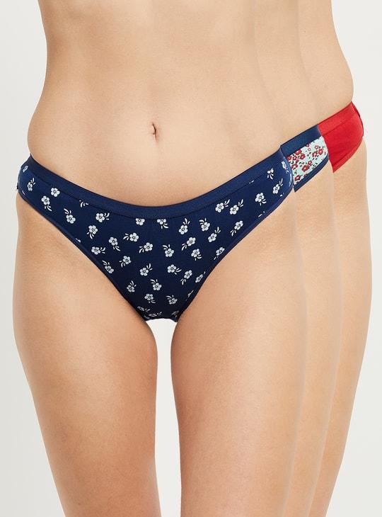 MAX Printed Bikini Panties - Set of 3