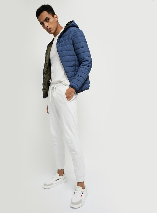 MAX Solid Reversible Puffer Jacket In A Bag