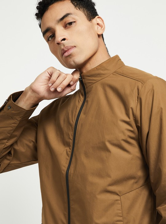 MAX Solid Casual Jacket