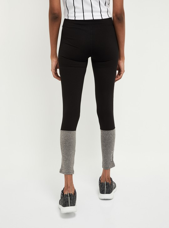 MAX Colorblocked Knitted Tights