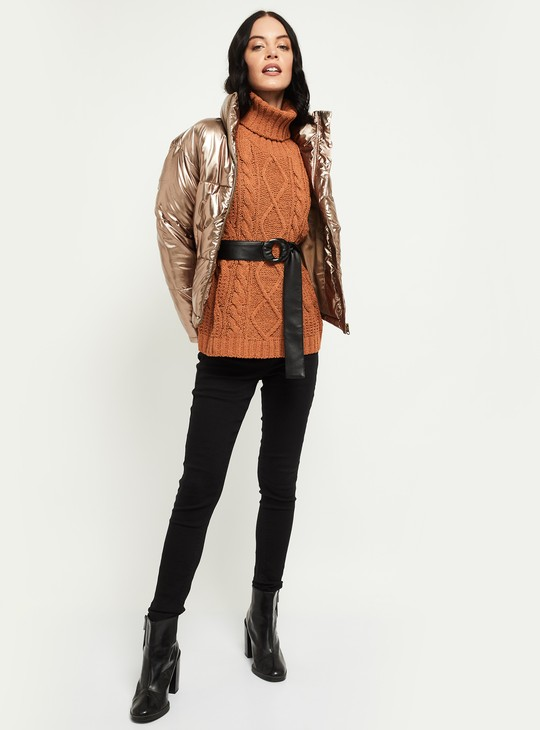 MAX Solid Puffer Jacket