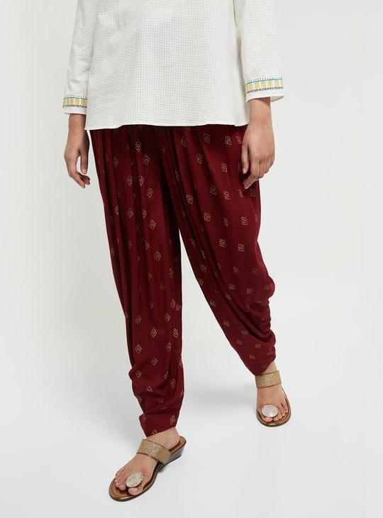 MAX Printed Patiala Pants