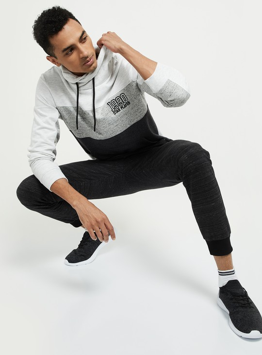 MAX Colourblocked Hoodie with Zip Pockets