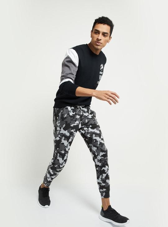 MAX Colourblock Sweatshirt with Patchwork