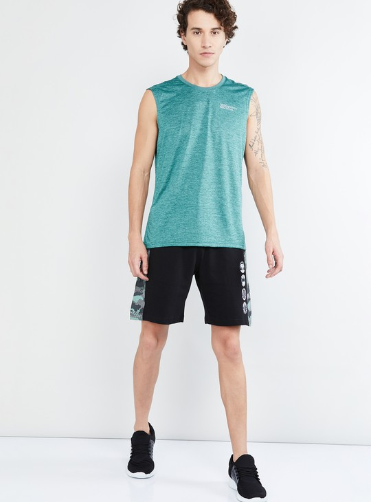 MAX Freshon & Neudri by N9 Textured Sleeveless T-shirt