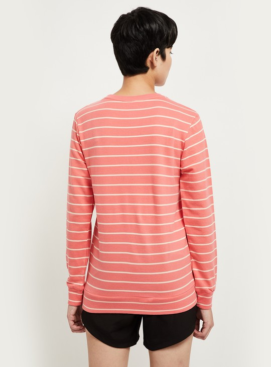 MAX Embellished Round Neck Lounge Top