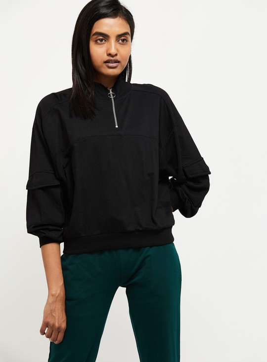 MAX Printed Full-Sleeves Sweatshirt