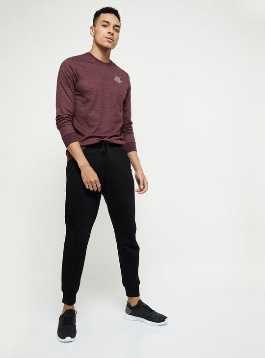 MAX Textured Slim Fit Crew Neck T-shirt