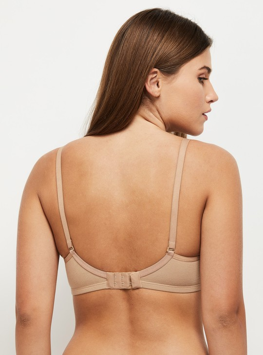 MAX Solid Padded Non-Wired Bra