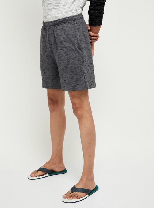 MAX Textured Lounge Shorts with Insert Pockets