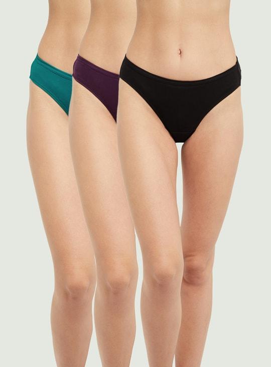 MAX Solid Bikini Panties - Pack of 2