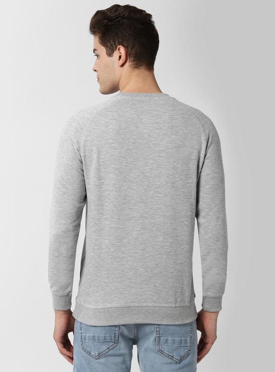 PETER ENGLAND Printed Full Sleeves Sweatshirt