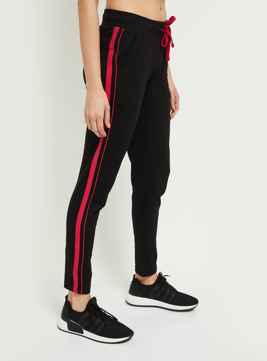 MAX Track Pants with Contrast Taping