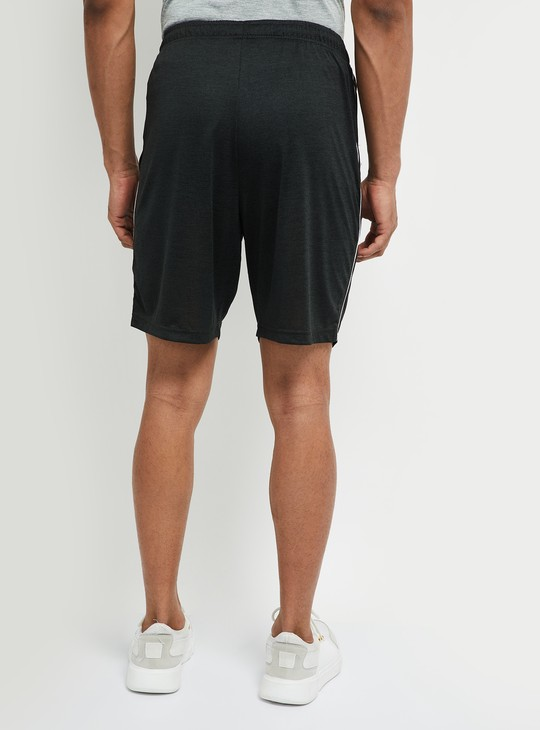 MAX Solid Knitted Sports Shorts