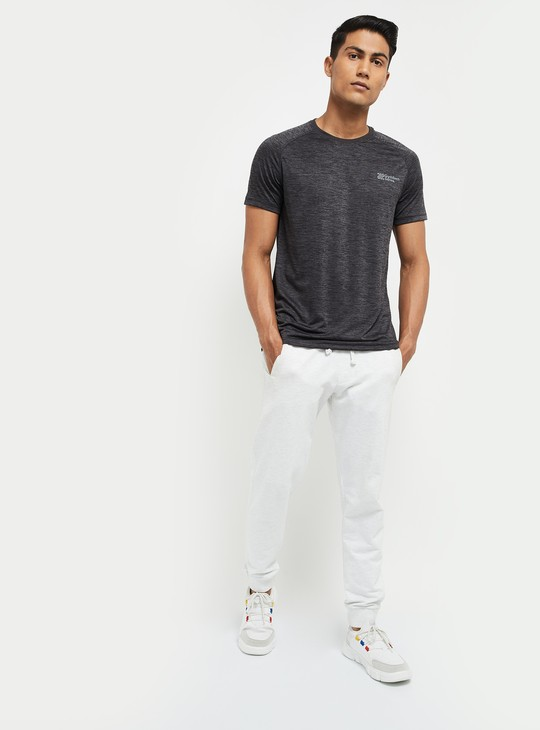 MAX Solid Regular Fit Crew Neck T-shirt
