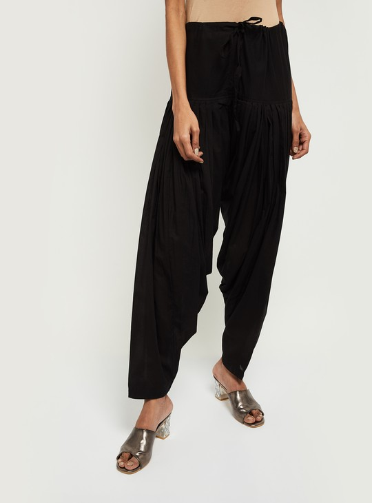 MAX Solid Patiala Pants