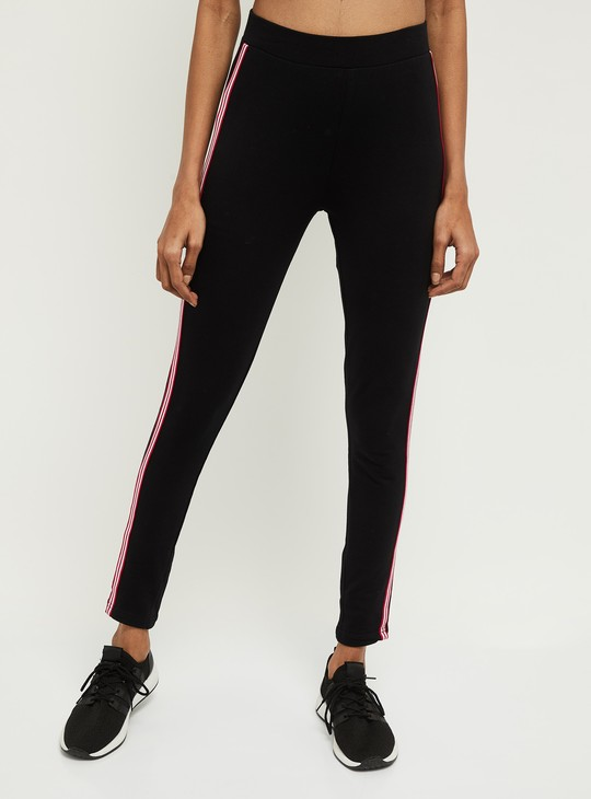 MAX Solid Elasticated Knitted Track Pants