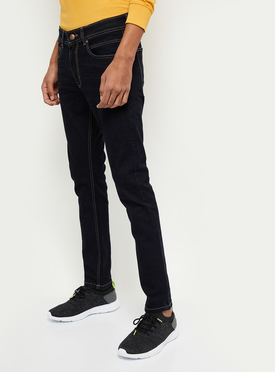 MAX Solid Skinny Jeans