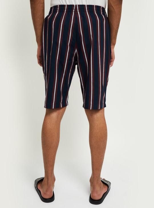 MAX Striped Lounge Shorts