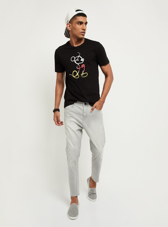 MAX Printed Ultra Slim Fit Crew Neck T-shirt