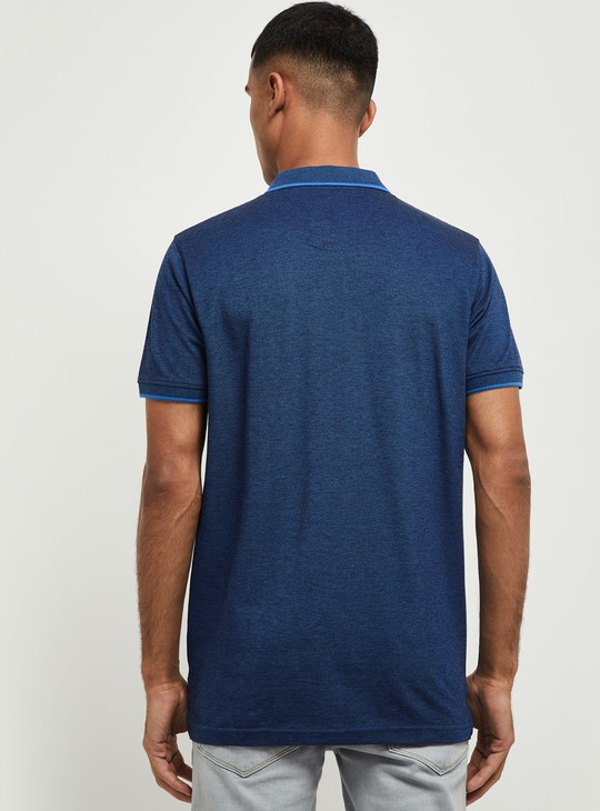 MAX Solid Regular Fit Polo T-shirt