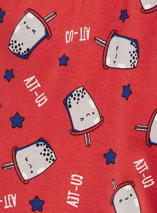 MAX Printed T-shirt and Pyjama