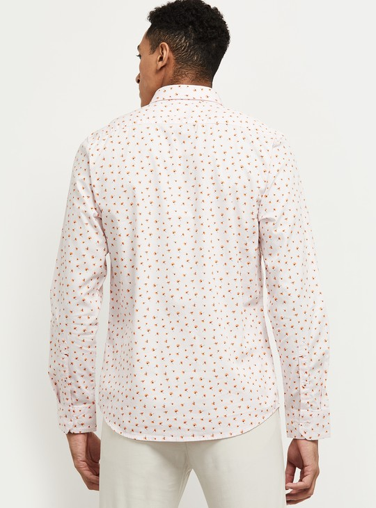 MAX Floral Print Regular Fit Casual Shirt