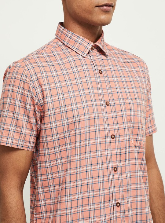 MAX Checked Smart Fit Shirt