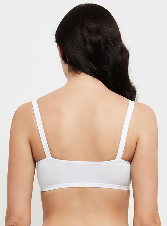 MAX Solid Beginners Camisole Bra - Set of 2