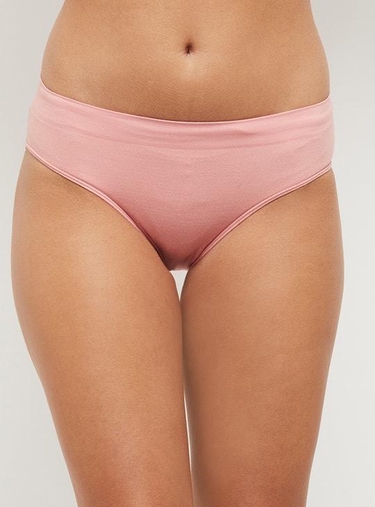 MAX Solid Seam-Free Bikini Panties