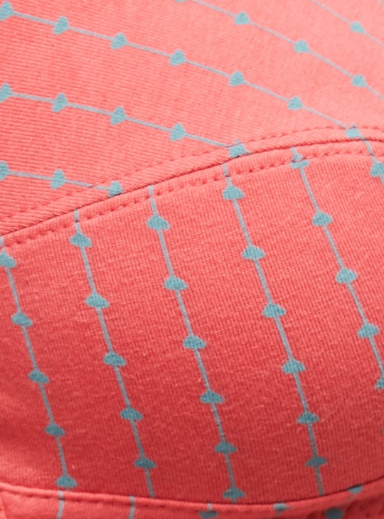 MAX Printed Soft-Cup T-shirt Bra - Set of 2