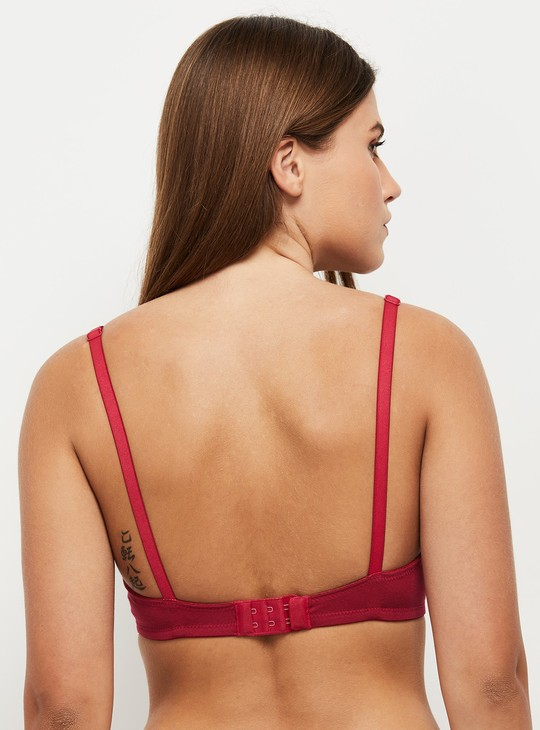 MAX Solid Non-Padded Moulded Bra
