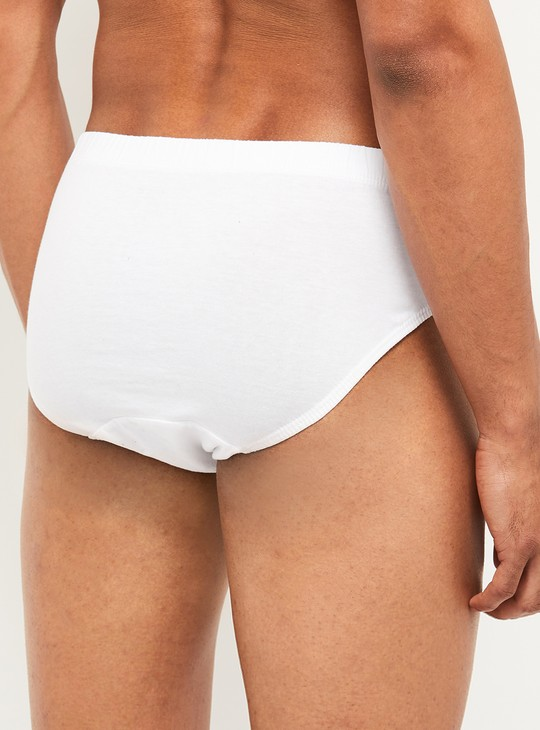 MAX Solid Knitted Briefs - Pack of 3