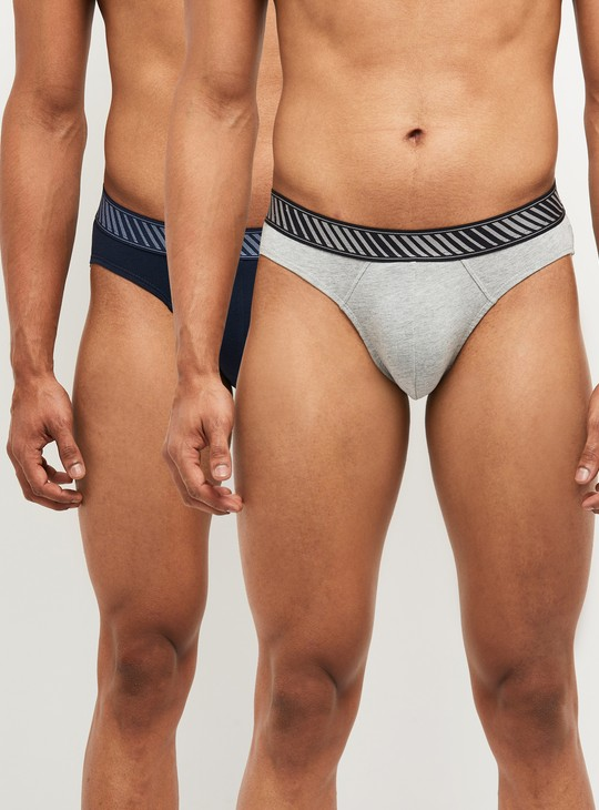 MAX Solid Briefs- Pack of 2