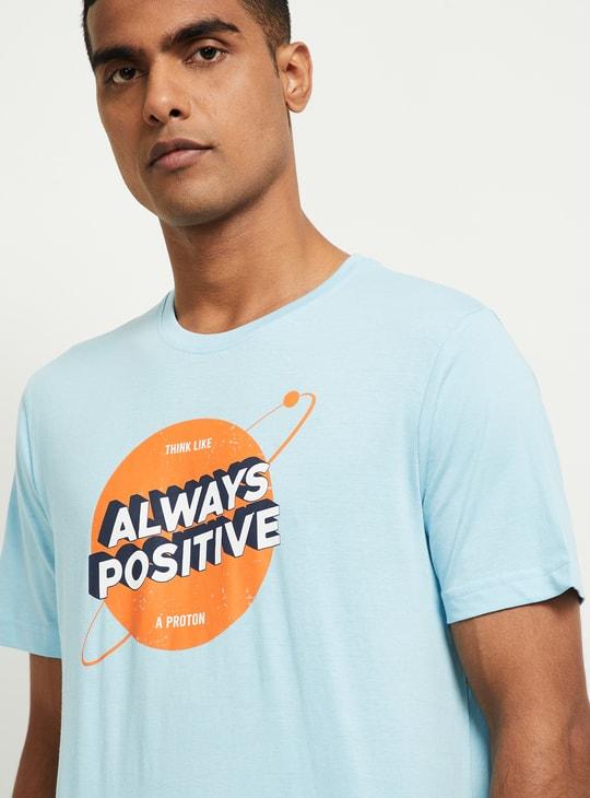 MAX Graphic Print Slim Fit T-shirt