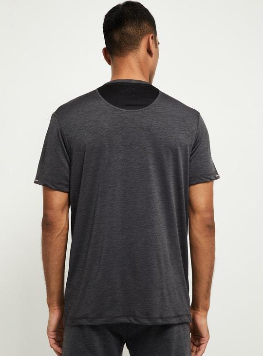 MAX Printed Slim Fit Training T-shirt