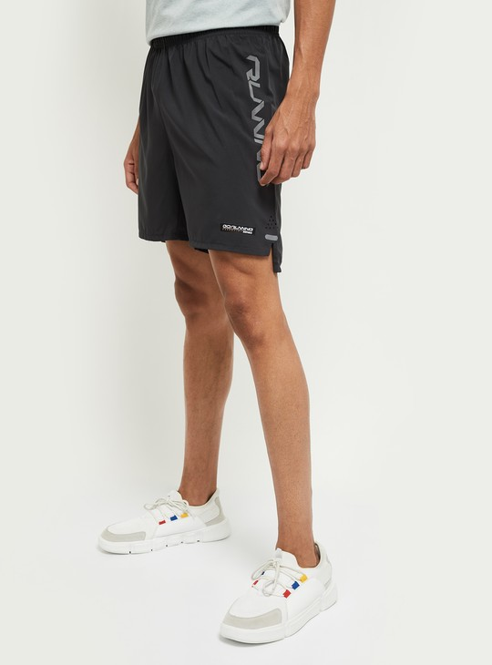 MAX Solid Elasticated Stretchable Sports Shorts