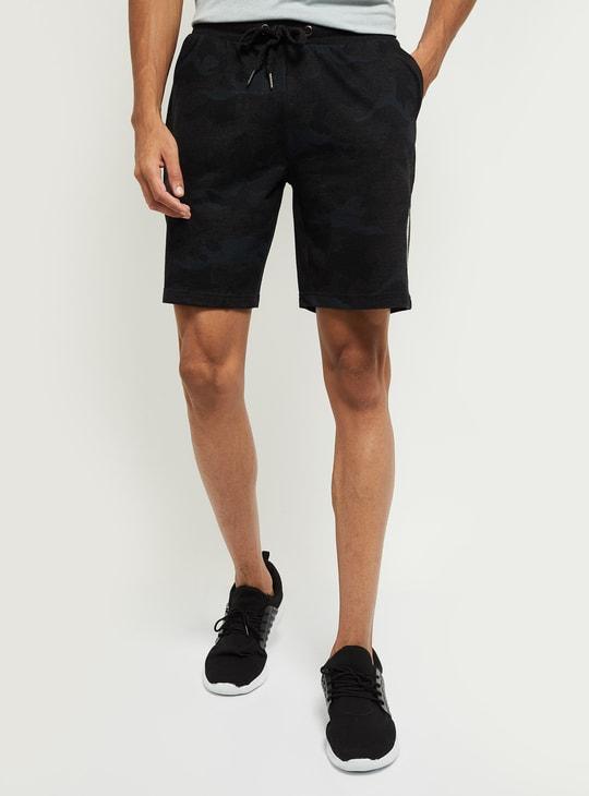 MAX Camo Print Elasticated Shorts
