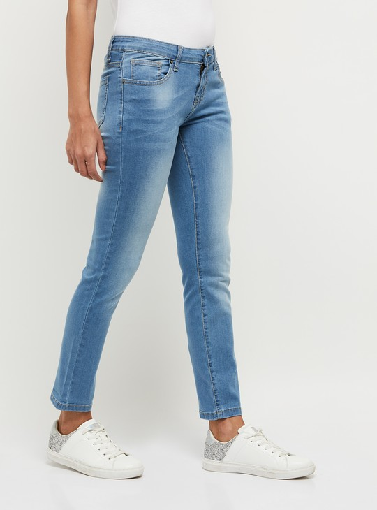 MAX Lightly Faded Slim Fit Jeans