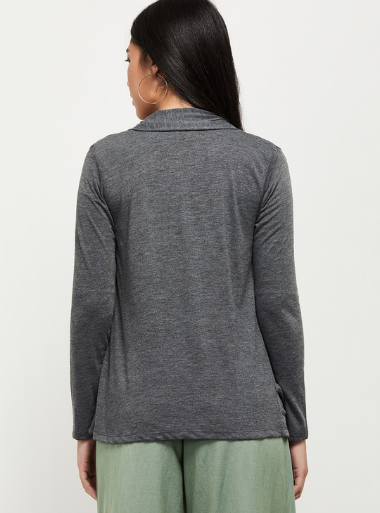 MAX Solid Open-Front Shrug