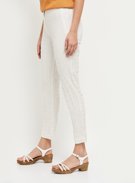 MAX Striped Trousers