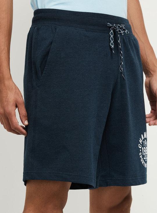 MAX Printed Knit Bottom Elasticated Shorts