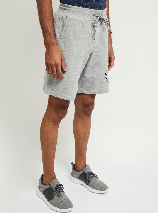 MAX Printed Drawstring Waist Training Shorts