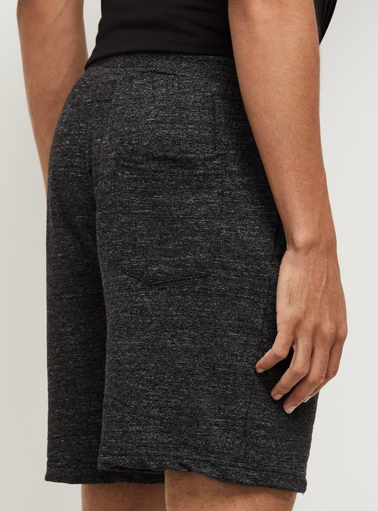 MAX Textured Knitted Elasticated Sports Shorts