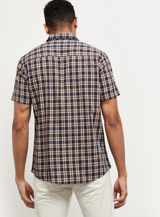 MAX Checked Smart Casual Shirt
