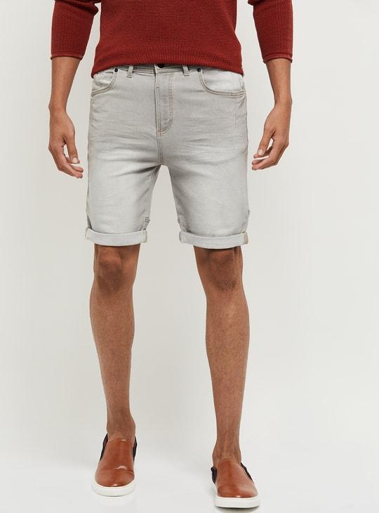MAX Stonewashed Shorts