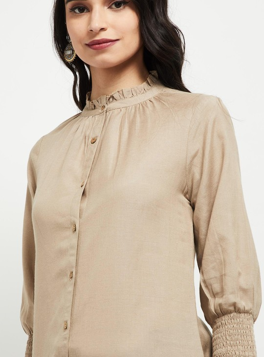 MAX Solid Woven Tunic
