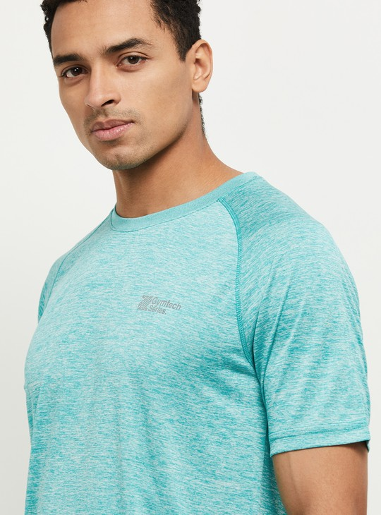 MAX Solid Crew Neck Sports T-shirt