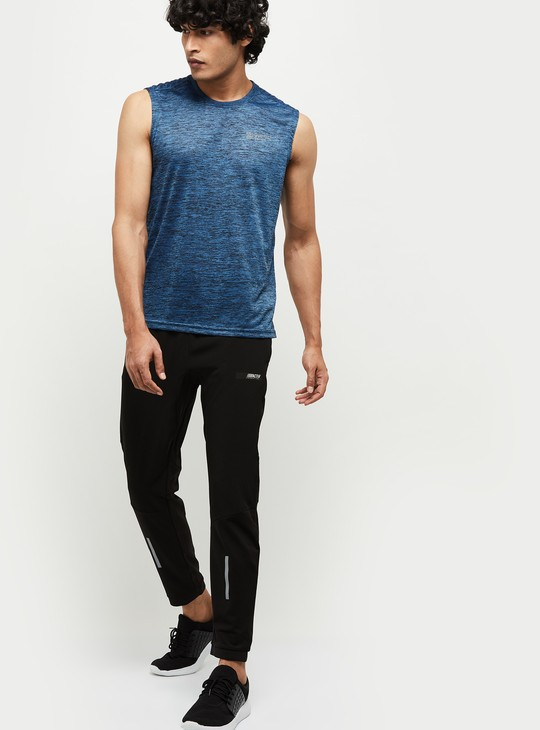 MAX Textured Crew Neck Sports T-shirt